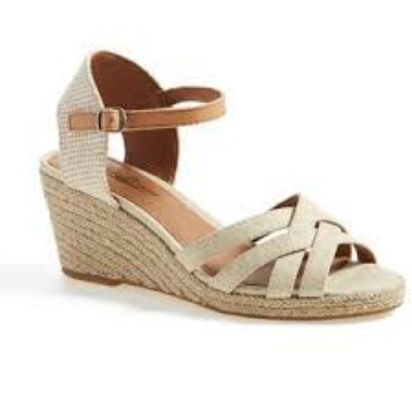 f2e036101a2 Lucky Brand Shoes - LUCKY BRAND  Kalessie  Cream Strappy Espadrille